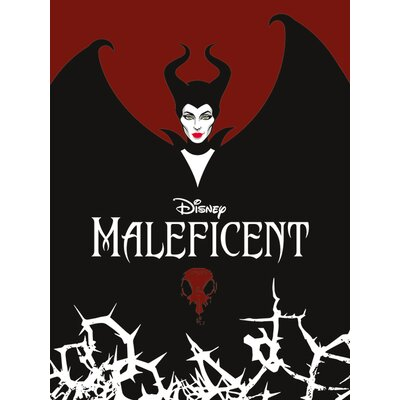 Art Group Maleficent - Wings Vintage Advertisement Canvas Wall Art