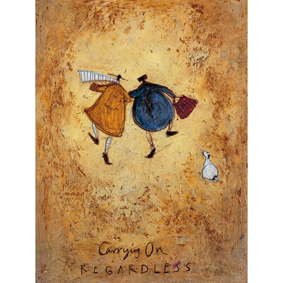Art Group Sam Toft - Carrying on Regardless by Sam Toft Canvas Wall Art