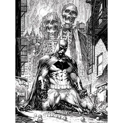 Art Group DC Comics - Batman Haunted Canvas Wall Art