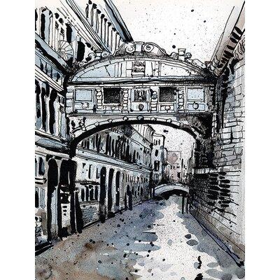 Art Group LX - Jack The Flipper - Venice IV Canvas Wall Art