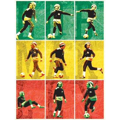 Art Group Bob Marley - Football Canvas Wall Art