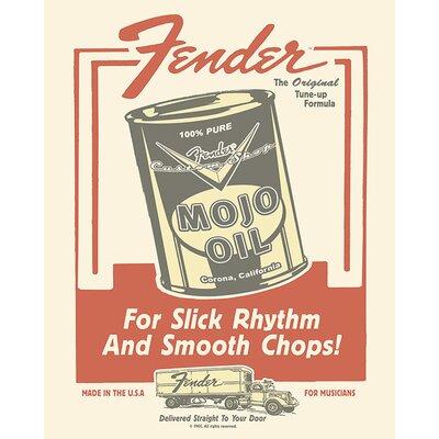 Art Group Fender - Mojo Oil Vintage Advertisement Canvas Wall Art