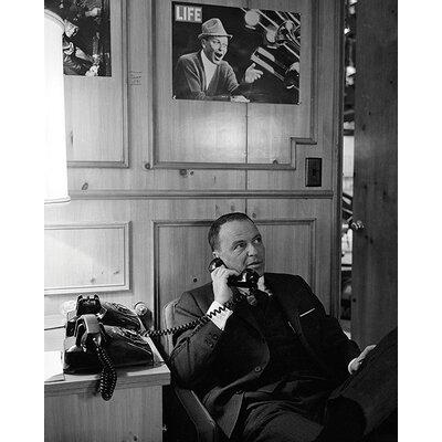 Art Group Time Life - Frank Sinatra - Phone Canvas Wall Art