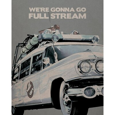 Art Group Ghostbusters - Ectomobile Vintage Advertisement Canvas Wall Art