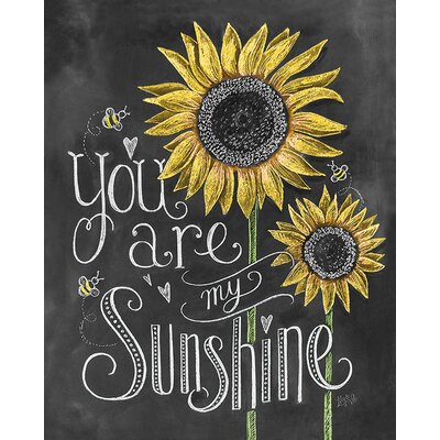 Art Group LiLy and Val - Sunshine Typography Canvas Wall Art