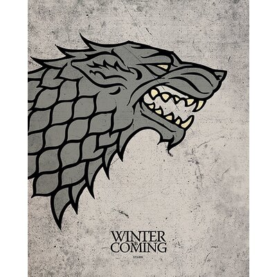 Art Group Game of Thrones - Stark Canvas Wall Art