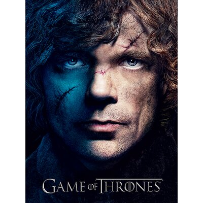 Art Group Game of Thrones Season 3 - Tyrion Vintage Advertisement Canvas Wall Art