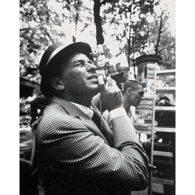 Art Group Time Life - Frank Sinatra - Camera Canvas Wall Art