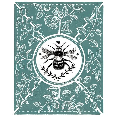 Art Group Amanda Colville - Little Bee Canvas Wall Art