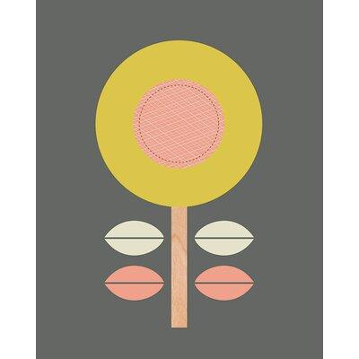 Art Group Little Design Haus - Scandi Flower II Canvas Wall Art