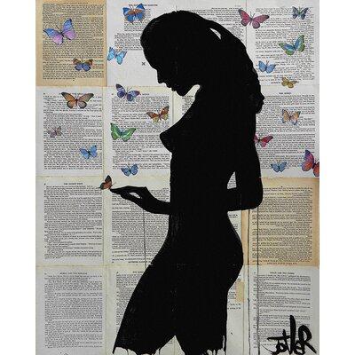 Art Group Loui Jover - Butterflies Canvas Wall Art
