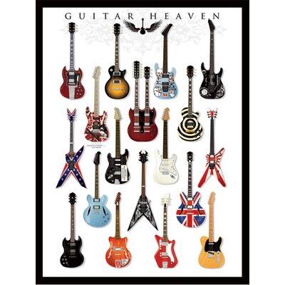 Art Group Guitar Heaven Canvas Wall Art