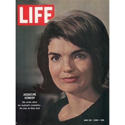 Art Group Time Life - Jackie Kennedy - Cover 1964 Canvas Wall Art