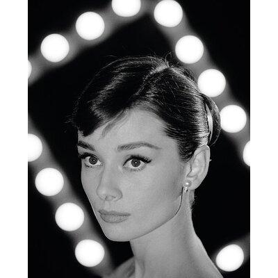 Art Group Time Life - Audrey Hepburn - Portrait Canvas Wall Art