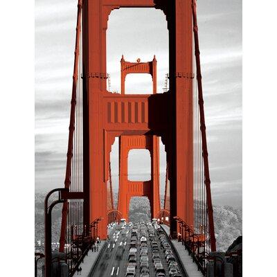 Art Group Gate Bridge - San Francisco Canvas Wall Art