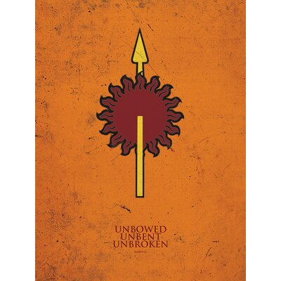Art Group Game of Thrones - Martell Canvas Wall Art