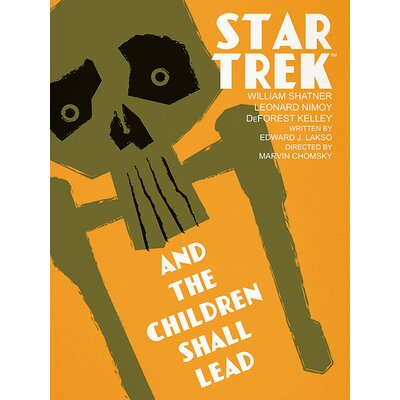 Art Group Star Trek - And the Children Shall Lead Vintage Advertisement Canvas Wall Art