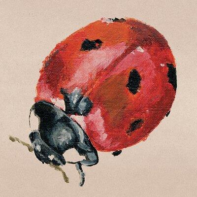 Art Group Lily Greenwood - Ladybird Canvas Wall Art