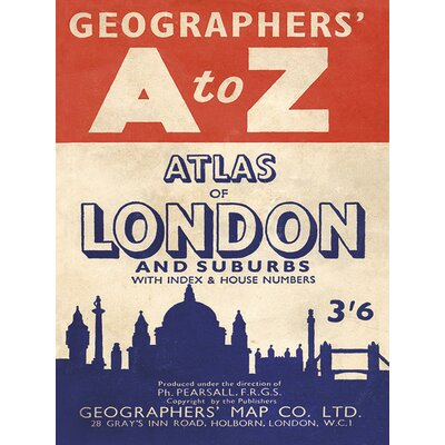 Art Group A-Z - Vintage 2 Vintage Advertisement Canvas Wall Art
