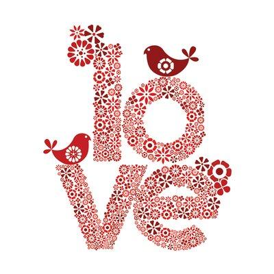 Art Group D - Red Love Valentina Ramos Vintage Advertisement Canvas Wall Art