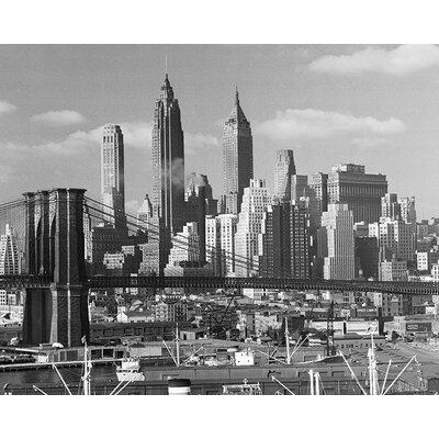 Art Group Time Life - Lower Manhattan Skyline 1948 Canvas Wall Art