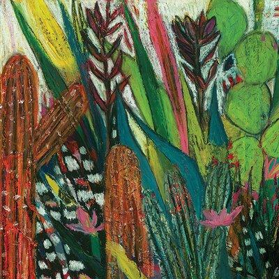 Art Group Shyama Ruffell - Jungle Boogie Canvas Wall Art