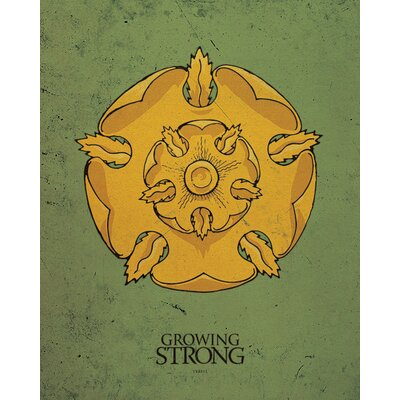 Art Group Game of Thrones - Tyrell Canvas Wall Art