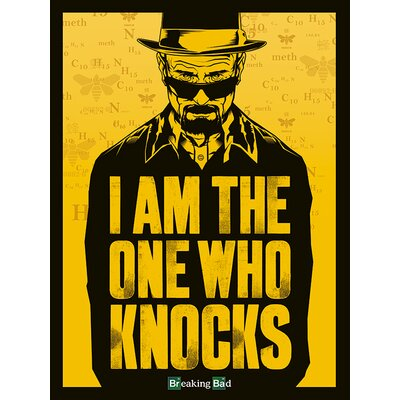 Art Group Breaking Bad - I Am the One Who Knocks Canvas Wall Art