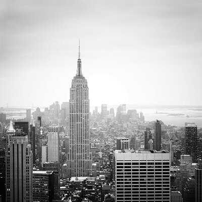 Art Group Håkan Strand - Empire State Building, Nyc Canvas Wall Art
