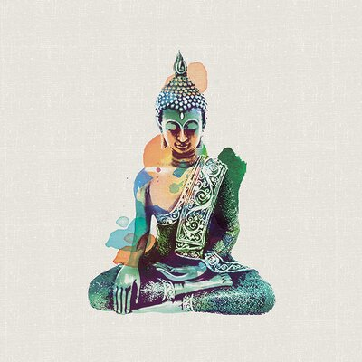 Art Group Summer Thornton - Jade Buddha Canvas Wall Art