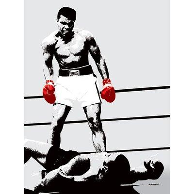 Art Group Muhammad Ali - Gloves Corbis Canvas Wall Art