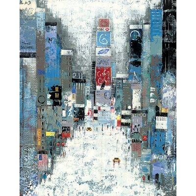 Art Group Lee Mccarthy - Times Square Canvas Wall Art