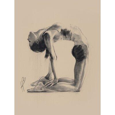 Art Group Hazel Bowman - Camel Pose Canvas Wall Art