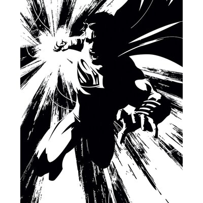 Art Group Batman V Superman - Superman Noir Canvas Wall Art