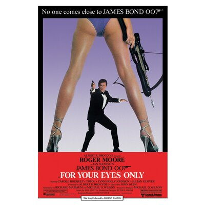 Art Group James Bond - For Your Eyes Only Canvas Wall Art
