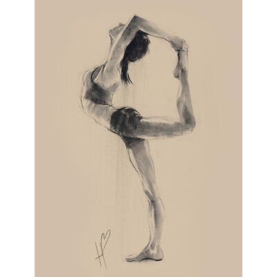 Art Group Hazel Bowman - Lord of the Dance Pose Canvas Wall Art