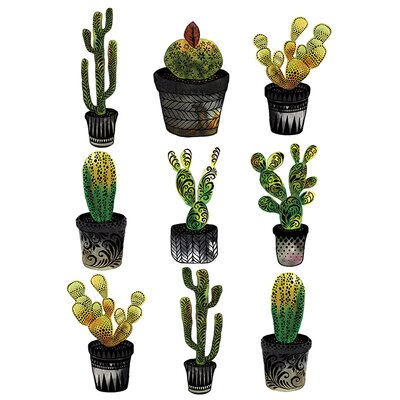 Art Group Cacti' by Sofie Rolfsdotter Canvas Wall Art
