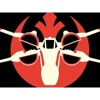 Art Group Star Wars Episode VII - X-Wing Pop Art Canvas Wall Art