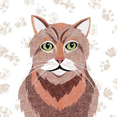 Art Group Simon Hart - Ginger Tom Canvas Wall Art