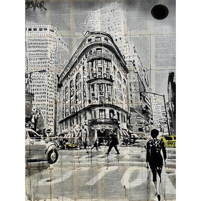 Art Group Loui Jover - Midtown Walk Canvas Wall Art