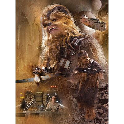 Art Group Star Wars Episode VII - Chewbacca Canvas Wall Art