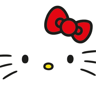 Art Group Hello Kitty - Face Canvas Wall Art