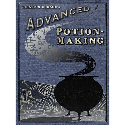 Art Group Harry Potter - Potion Making Vintage Advertisement Canvas Wall Art