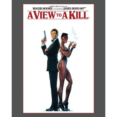Art Group James Bond - A View To A Kill Canvas Wall Art