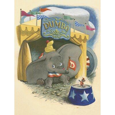 Art Group Dumbo - Watercolour Canvas Wall Art