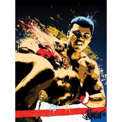 Art Group Muhammad Ali - Stung Petruccio Canvas Wall Art