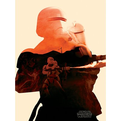 Art Group Star Wars Episode VII - Flametrooper Tri Canvas Wall Art