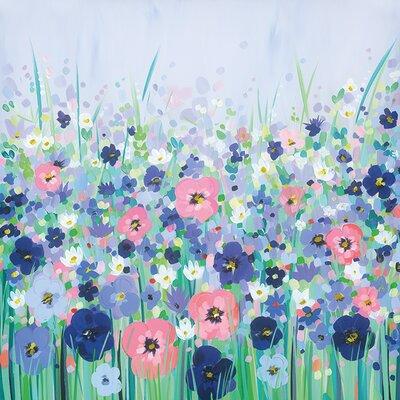 Art Group Janet Bell - Wild Meadow Canvas Wall Art