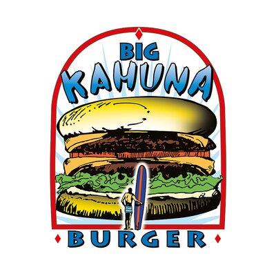 Art Group Tarantino - Big Kahuna Burger Vintage Advertisement Canvas Wall Art