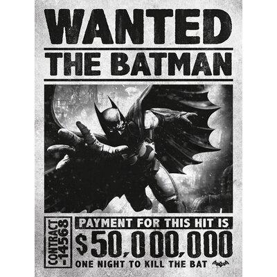 Art Group Batman Arkham Origins - Wanted Canvas Wall Art